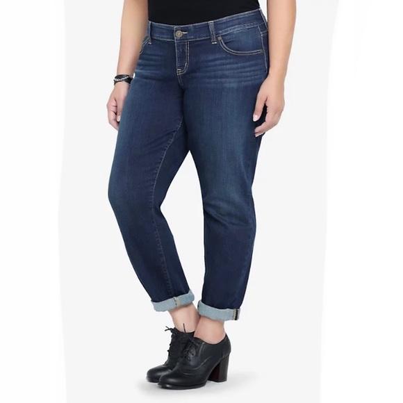 TORRID Women's BOYFRIEND Jeans Premium Denim